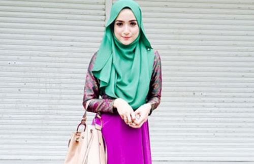 Model Hijab Acara Pesta Santai