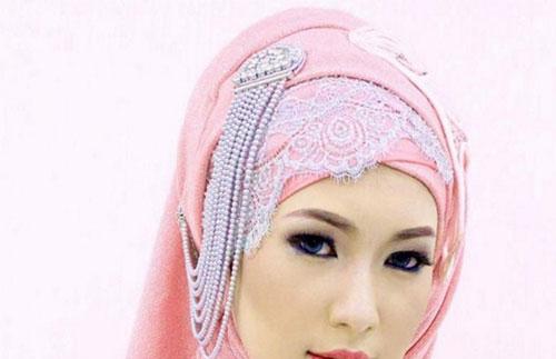 Model Hijab Pesta Elegan