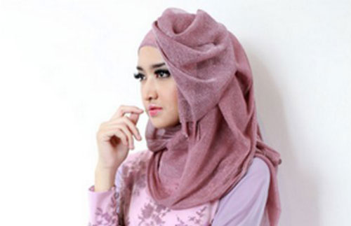 Model Hijab Pesta Elegan