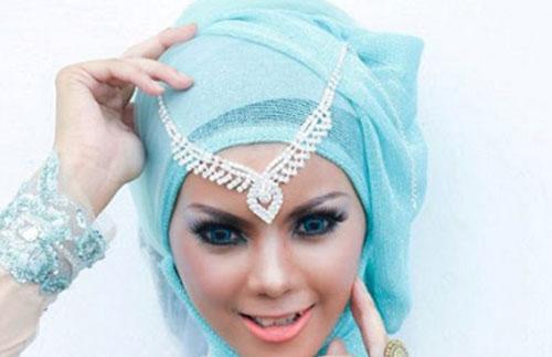 Model Hijab Pesta Mewah