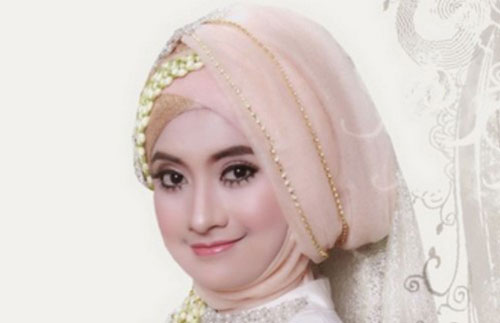 Model Hijab Pesta Mewah