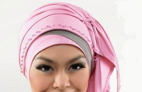 Model Hijab Pesta Modern