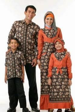Baju Muslim Keluarga Batik 01