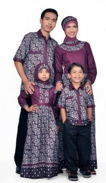 Baju Muslim Keluarga Batik 02