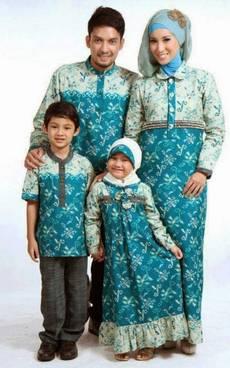 Baju Muslim Keluarga Batik 03
