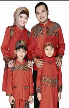 Baju Muslim Keluarga Batik 04