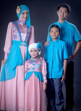 Baju Muslim Keluarga Pesta 02