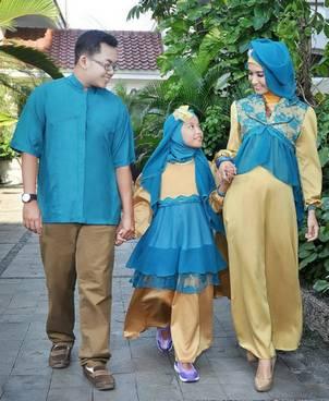 Baju Muslim Keluarga Pesta 03