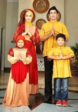 Baju Muslim Keluarga Pesta 04
