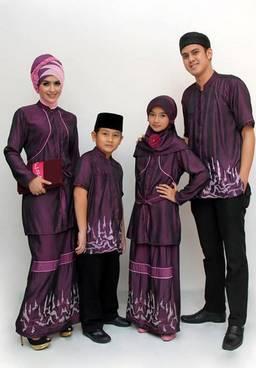 Baju Muslim Keluarga Sarimbit 02