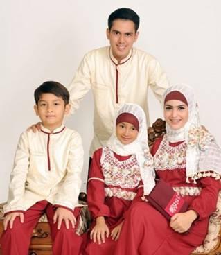 Baju Muslim Keluarga Sarimbit 03