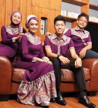Baju Muslim Keluarga Sarimbit 04
