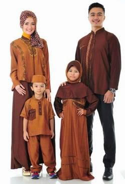 Baju Muslim Keluarga Seragam 01