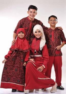 Baju Muslim Keluarga Seragam 02