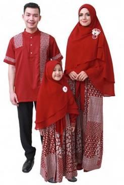 Baju Muslim Keluarga Seragam 03