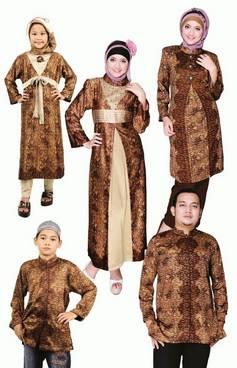 Baju Muslim Keluarga Seragam 04
