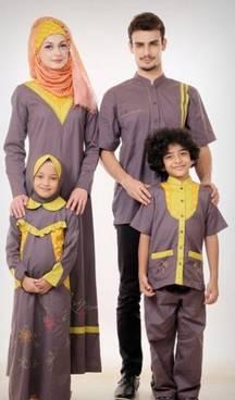 Baju Muslim Keluarga Trendy 03