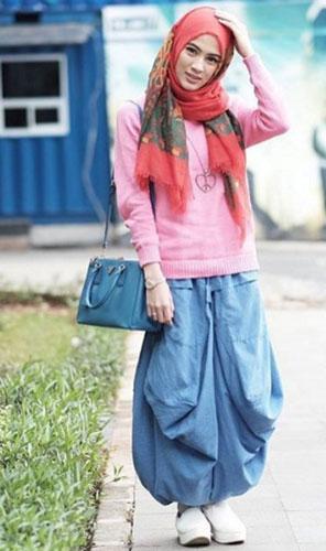 Celana Muslimah Trendy