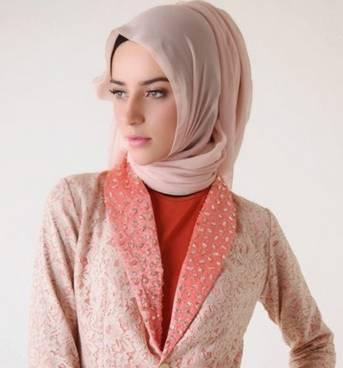 Desain Baju Muslim Di Padukan Jaket 02