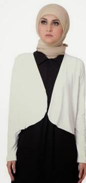 Desain Baju Muslim Di Padukan Jaket 03