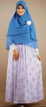 Desain Baju Muslim Syar'i