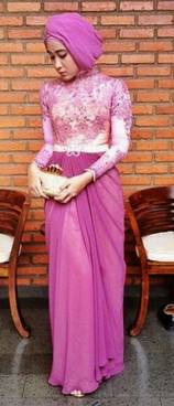 Gaun Kebaya Muslim 01