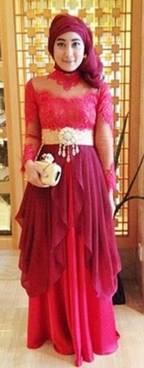 Gaun Kebaya Muslim 02