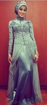 Gaun Kebaya Muslim 11