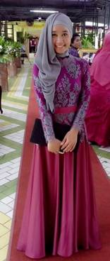 Gaun Kebaya Muslim 13