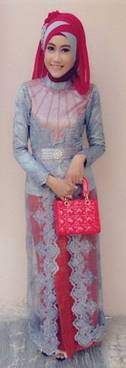 Gaun Kebaya Muslim 15