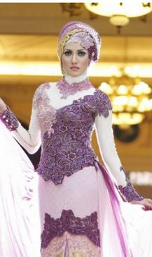 Gaun Kebaya Muslim 17