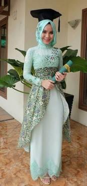 Gaun Kebaya Muslim 22