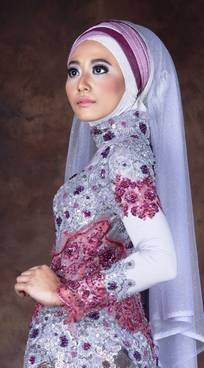 Gaun Kebaya Muslim 36