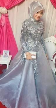 Gaun Kebaya Muslim 45