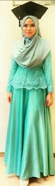Kebaya Muslim Wisuda 03