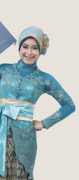Kebaya Muslim Wisuda 06