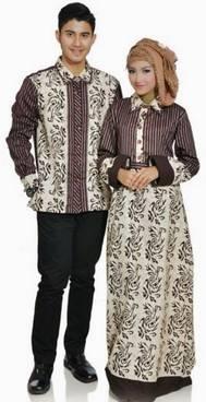 Model Baju Couple Sasirangan 01