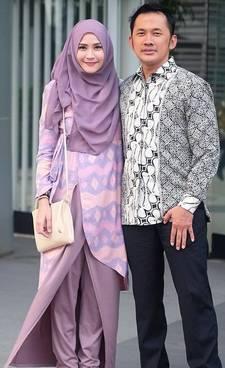 Model Baju Couple Sasirangan 02