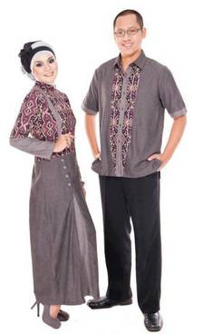 Model Baju Couple Sasirangan 04