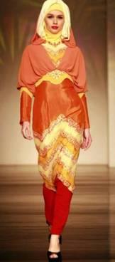 Model Gamis Sasirangan 02