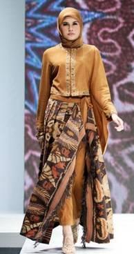 Sasirangan Model Baju Pesta 01