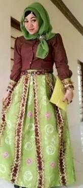 Sasirangan Model Baju Pesta 04