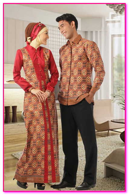 baju couple muslim batik 2016