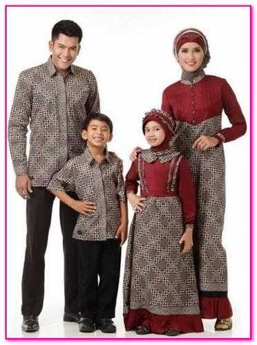 baju couple muslim ibu dan anak modern