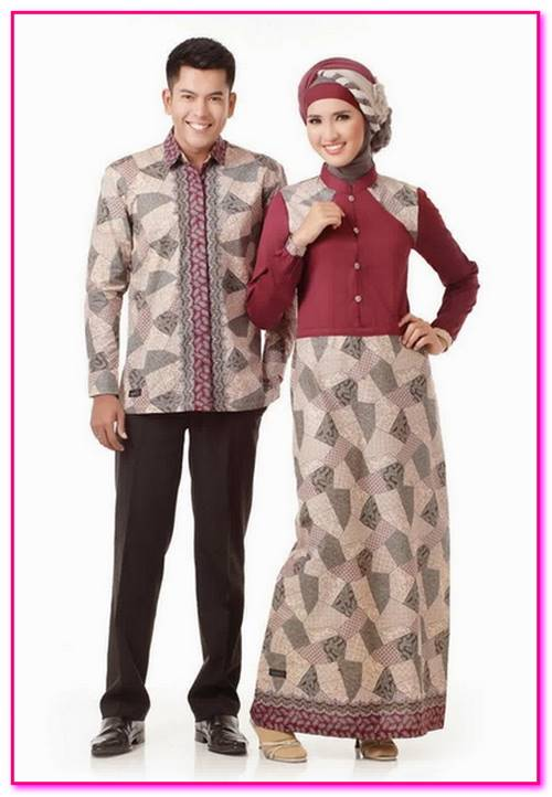 baju couple muslim modern 2017