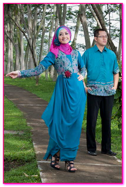 baju couple muslim pesta