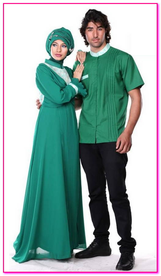 baju couple muslim simple