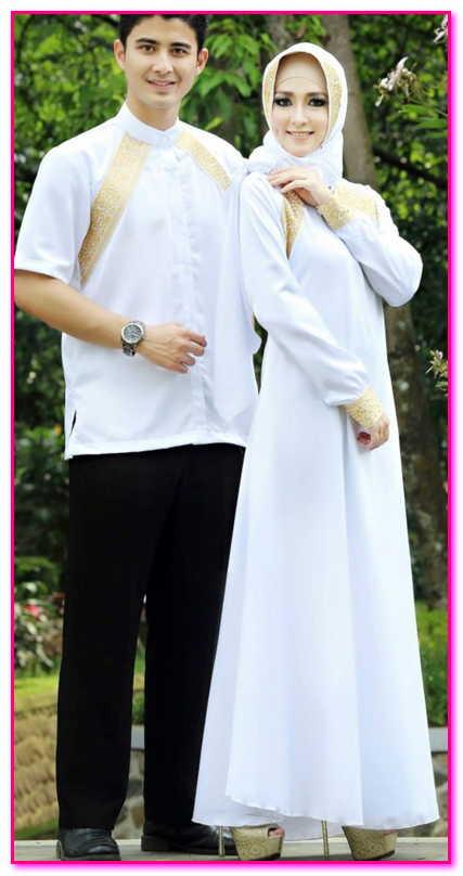 baju couple muslim untuk pesta