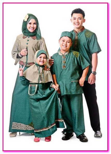 baju muslim couple 1 keluarga
