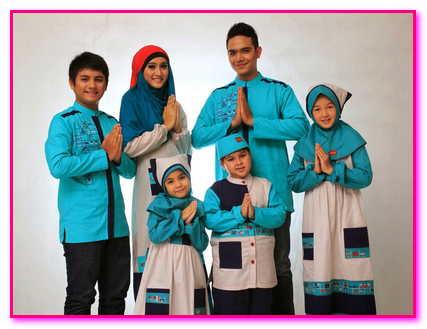 baju muslim couple keluarga 2017